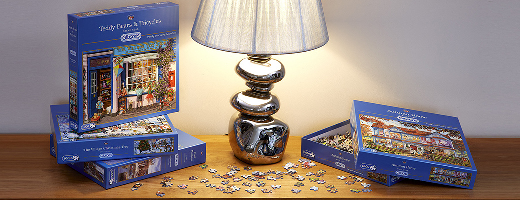 Gibons puzzles available at Glynswood, Thame in Oxfordshire
